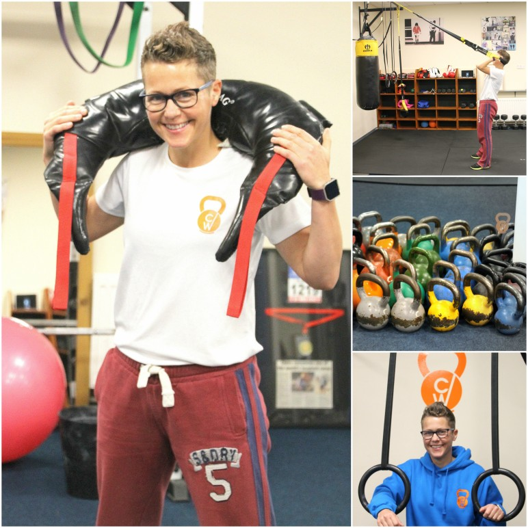 claire withers training collage